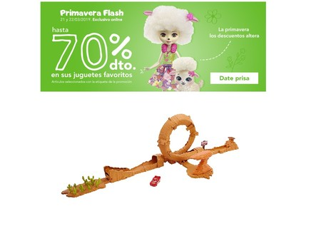 Flash sale en Toys ´r us: descuentos de hasta el 70% durante las próximas 36 horas