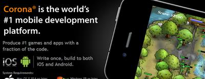 Recopilación de tutoriales de Corona SDK para aprender a desarrollar para iOS, Android y Kindle