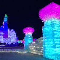El increíble concurso de esculturas de hielo en la ciudad china de Harbin