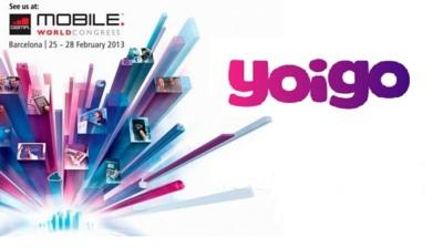 MWC 2013: Sigue en directo las novedades de Yoigo