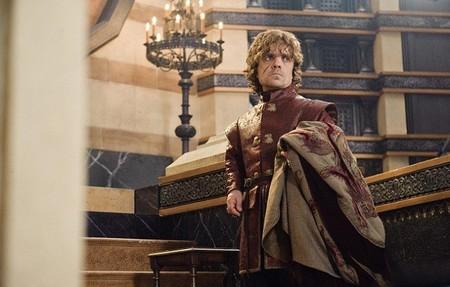 Tyrion esperando la llegada de su prometida