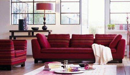Cómo limpiar sofás tapizados en tela