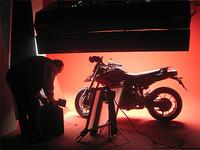 Sesión fotográfica de la Ducati Hypermotard