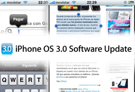 ¡El iPhone OS 3.0 ya está disponible para descargar en iTunes!