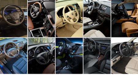 Los 10 mejores interiores de coches según Ward's Auto