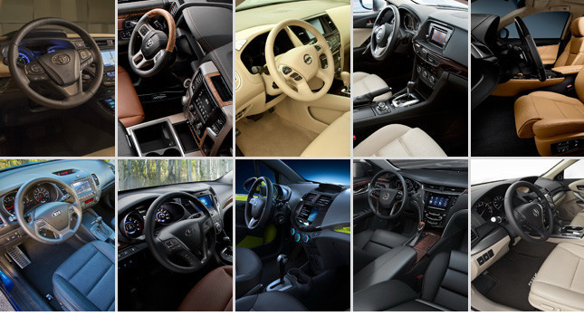 2013 Ward's Auto Best New Interiors