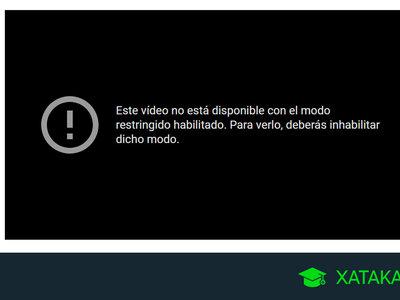 Qué es el modo restringido de YouTube y cómo desactivarlo