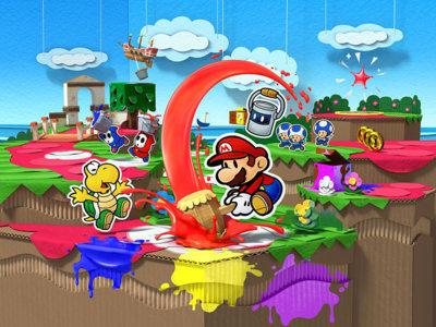 Paper Mario: Color Splash da rienda suelta a su jugabilidad en un gameplay de 10 minutos