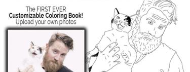 Color Me Book o cómo convertirte en el protagonista de tu libro para colorear