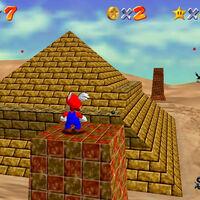 Super Mario 64: cómo conseguir la estrella Stand Tall on the Four Pillars de Shifting Sand Land