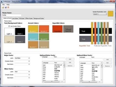 Theme Builder: crea tus propias plantillas para Office 2007