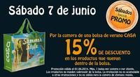 Casa nos presenta la promoción 'Sábados locos' con descuentos del 15 %