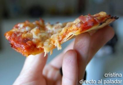 Mini pizzas expres