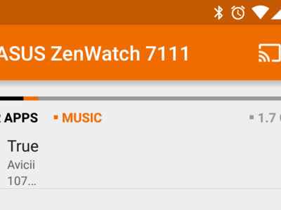 Google Play Music 6.0 añade opciones para gestionar la descarga de musica en Android Wear