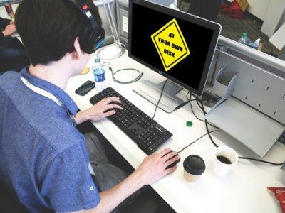 Los 5 principales peligros de trabajar frente al ordenador, y cómo evitarlos
