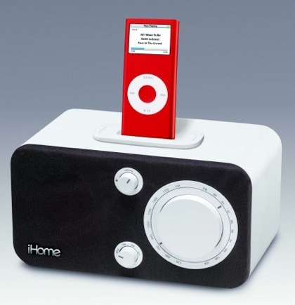 iHome iH10, radio con dock para iPod