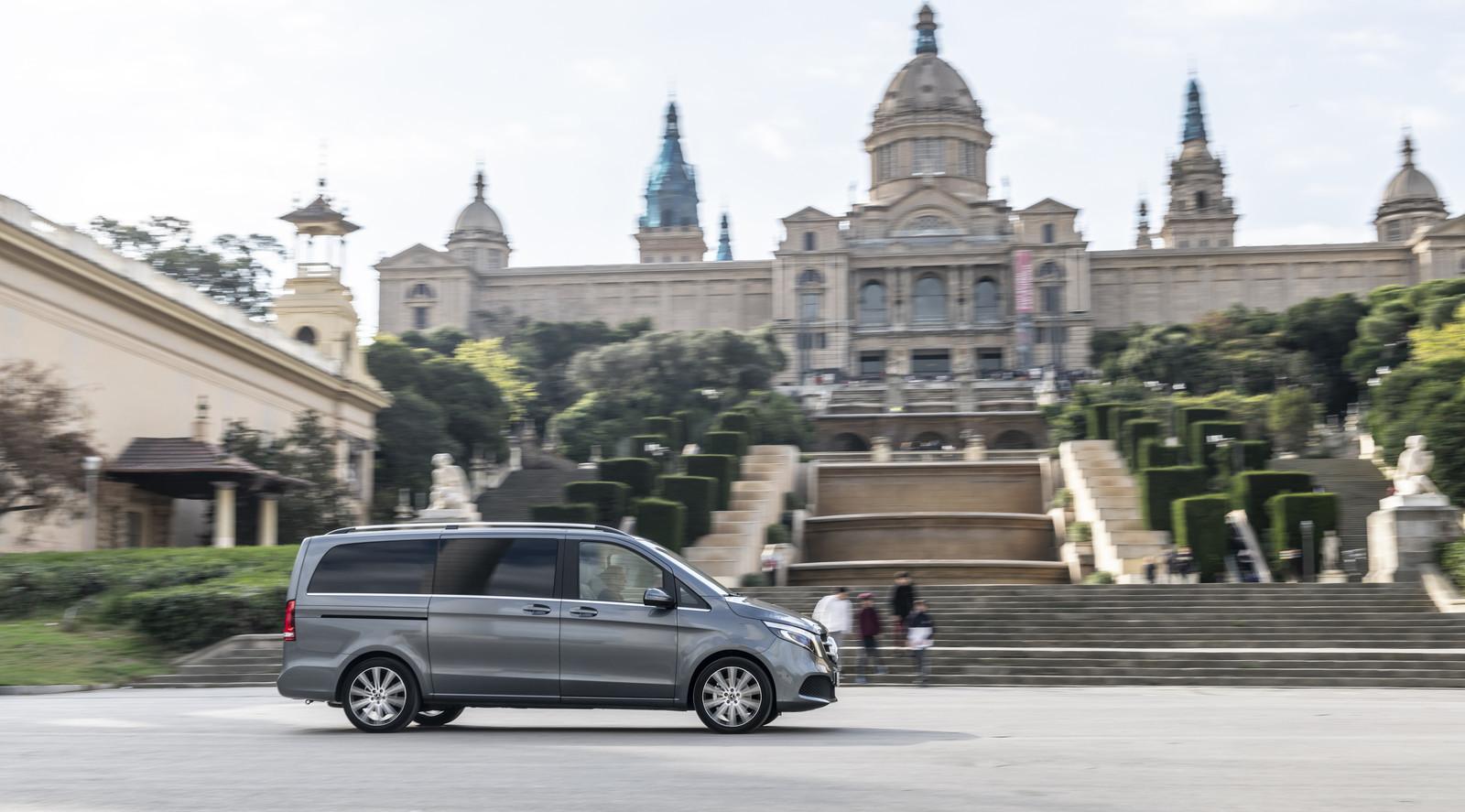 Foto de Mercedes-Benz Clase V 2019 (31/92)