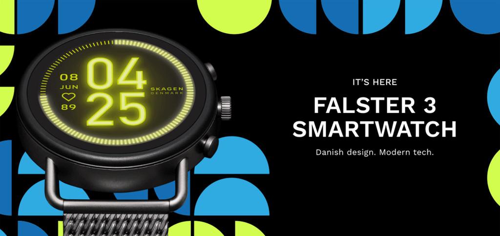Skagen Falster 3: Snapdragon Wear 3100 y altavoz ingresado para el nuevo reloj con Wear OS de Skagen
