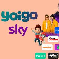 Sky con la televisión de Yoigo seguirá siendo gratis hasta el 31 de marzo de 2019