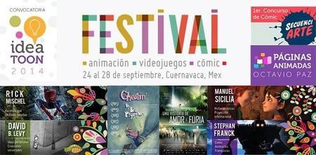 Cuernavaca es sede de El Festival de Animación, Videojuegos y Cómic