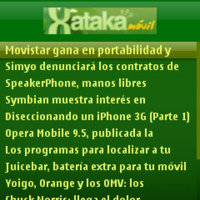 Catálogo de widgets para Symbian S60
