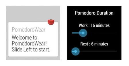 pomodoro wear app