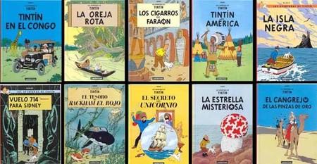 Tintin portadas