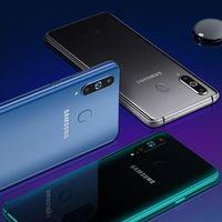 El Samsung Galaxy A8s en cinco claves: pantalla agujereada, procesador de Qualcomm y nada de jack de 3.5 mm