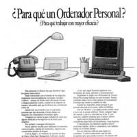 Anuncio Apple de 1985