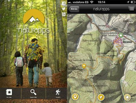 Naturapps rutas de senderismo