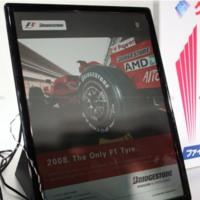 Bridgestone muestra un interesante libro electrónico a color
