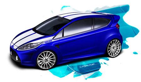 Recreaciones del Ford Fiesta RS y del Lancia Delta HF por Luis Camino
