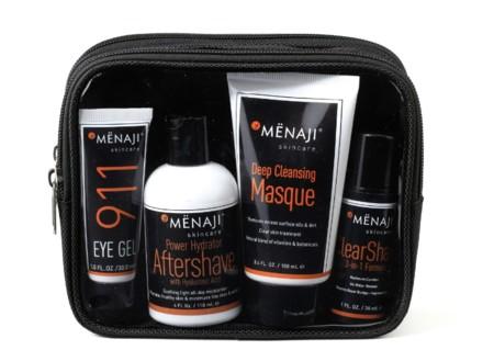 MENAJI lanza un kit de viaje para cuidar nuestra piel cuando no estamos en casa