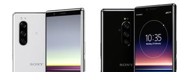 Sony Xperia 5 vs Sony Xperia 1, esto es todo lo que cambiado