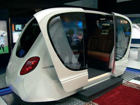El futuro transporte público personal de Abu Dhabi