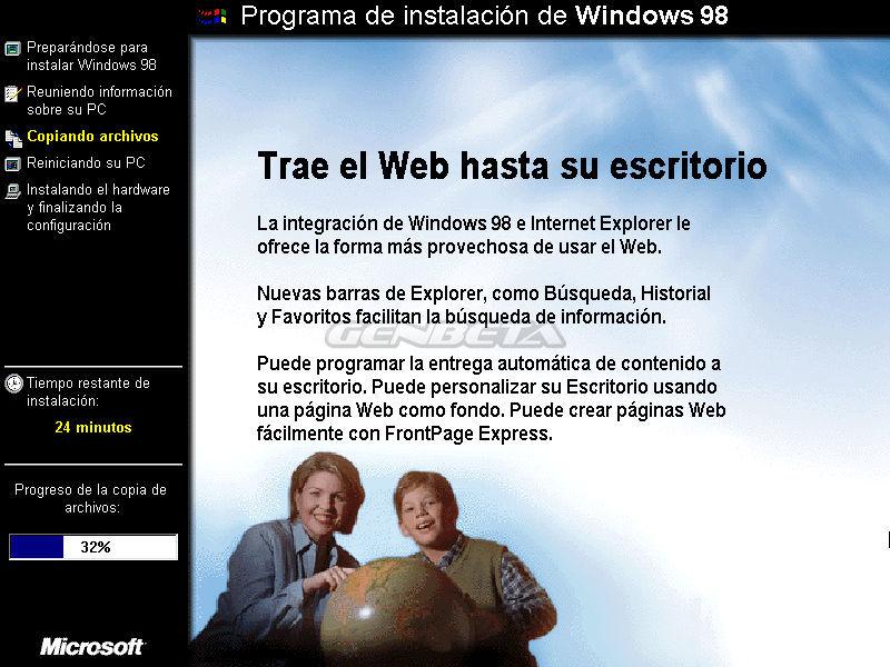 Foto de Programa de instalación de Windows 98 (3/10)