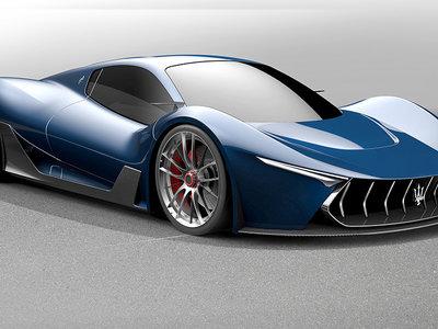 ¿Qué tal un Maserati basado en el Ferrari LaFerrari?