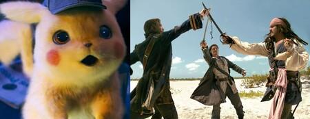 Las nueve mejores películas para ver gratis en abierto este fin de semana (23-25 julio): 'Piratas del Caribe: El cofre del hombre muerto', 'Pokémon: Detective Pikachu' y más
