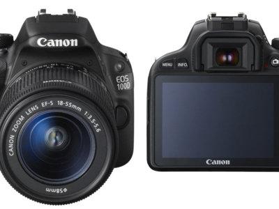 Ahora tienes la Canon EOS 100D con objetivo a 419 euros en eBay