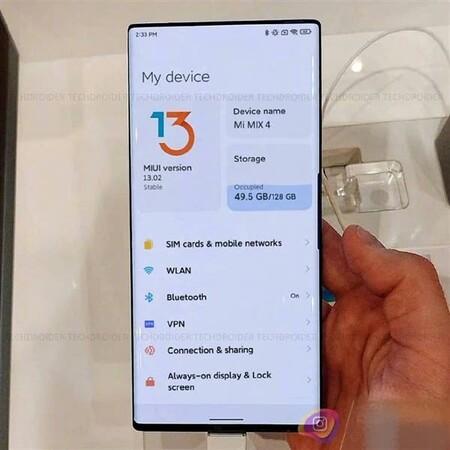 Xiaomi Mi Mix 4 Diseno Camara Invisible Bajo Pantalla Miui 13