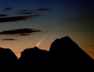 El cometa Mc Naught se verá hoy en Galicia