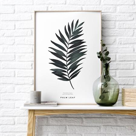 Natura Palm Lamina Decoracion