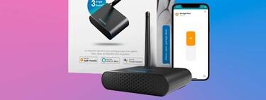 Abre la puerta del garaje con tu voz y Siri: este pequeño dispositivo HomeKit de meross está rebajadísimo, marcando precio mínimo