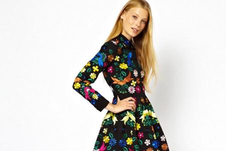 Claves de moda para ir de shopping: buscando el minivestido estampado perfecto