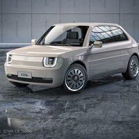 El Fiat 126 Vision es una exquisita propuesta de coche eléctrico que mezcla el clásico de Fiat y el estilo del Honda e