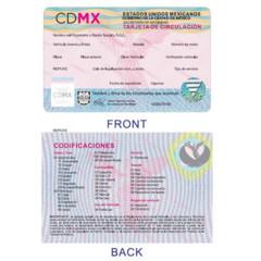 Foto 4 de 9 de la galería nuevas-placas-cdmx en Motorpasión México