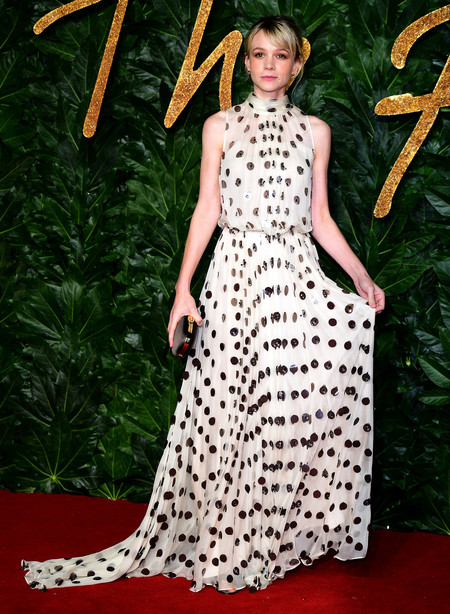 Alfombra Roja British Fashion Awards 2018 Carey Mulligan Prada