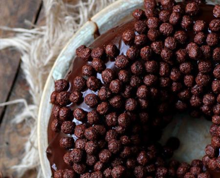 rosca de reyes de chocolate