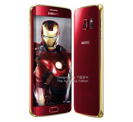 """El Samsung Galaxy S6 y S6 Edge """"Edición Iron Man"""" es oficial con más modelos en junio"""
