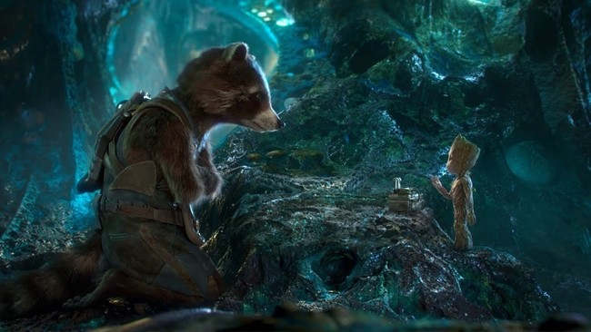 Rocket Raccoon y Baby Groot